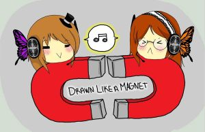 Drawn Like a Magnet by TangolaDude