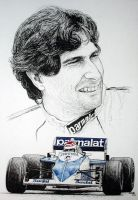 Nelson Piquet Tribute by machoart