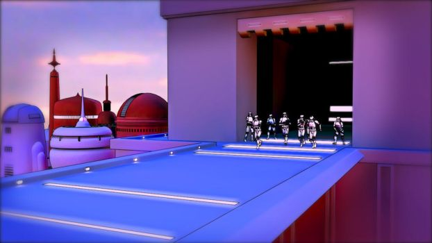 Stormtroopers in Cloud City by Mn8Multimedia