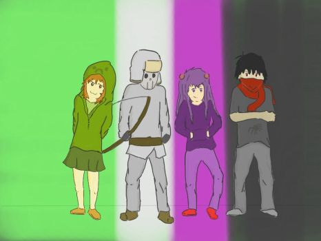 My Oc's (Minecraft) by Bolt-Electric