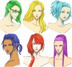 Miracles AU long hair by unsolvedenigma