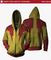 Kid Flash Hoodie by seventhirtytwo