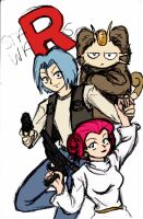 Team Rocket's May the Fourth by ArtisteFish