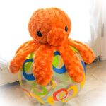 Octopus plush needs Summer Love by The-Cute-Storm