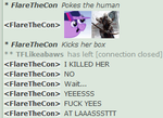 SHE DIED by FlareTheCon