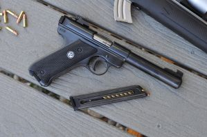 Ruger Mark II Target by ComradeSniper