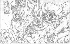 World of Warcraft pencil test by DawidFrederik