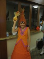 Flame Princess at Boston Comic Con by cubseidl