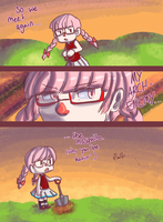 I hate mosquitoes by KazumiJade