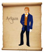 Western Disney - Adam by daKisha