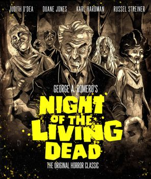 BLU-RAY COVER - Night of the Living Dead - Orig by SimonSherry