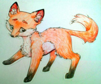 A little fox by Choco98Pink