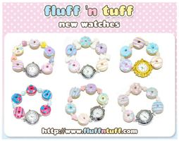 New Cute Watches by Fluffntuff
