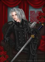 Sephiroth the General by mayonakakisu