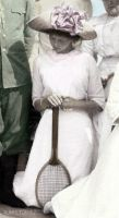 Grand Duchess with a Tennis Racket by ajhistoric2