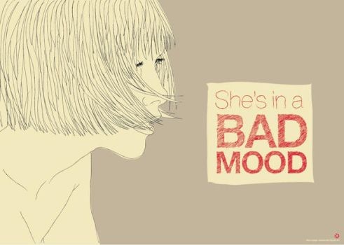 She's in a Bad Mood by Xascola