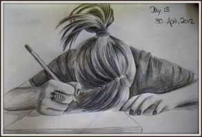 one sketch a day: day 13 by Sashka91