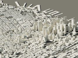 3D San Francisco by ExtraNoise