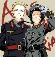 APH - uniform of Wehrmacht by SERAPHLEI