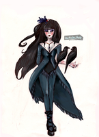 Lady Raven by FluffableSheep