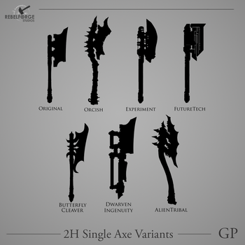 2HSingleAxe Variants0 by Plyxis