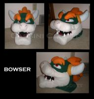 Bowser Mask by CassiniCloset