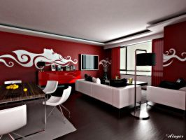 Small version of red room by alijoe