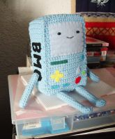 CROCHETED BMO by OkashiBurochi