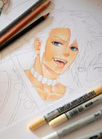 Copic Skin Colo WIP -Tutorial available on Patreon by Laovaan