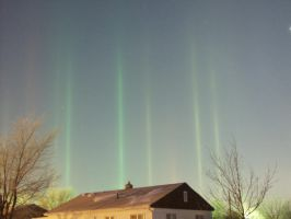 Light Pillars by Nightwalker50