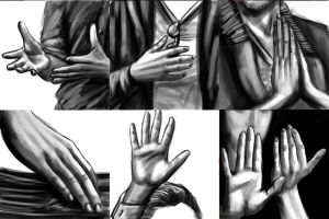 Hiddles Hand Porn by SweetAmberkins