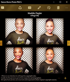Maddie Ziegler | Pack Png 02 by loveeditionsFR