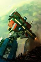 'Best of Optimus Prime' IDW by LivioRamondelli