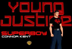 Young Justice Wallpapers - Superboy by EspioArtworks