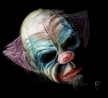 Clown by grizzlydude