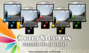 MusicMod Skin ColorSleeves by JeanCa