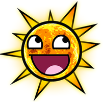 Sun Awesome Smiley by E-rap
