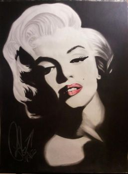 Marylin Monroe by tanchezink