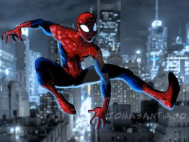 The Ultimate Spider Man by joma33