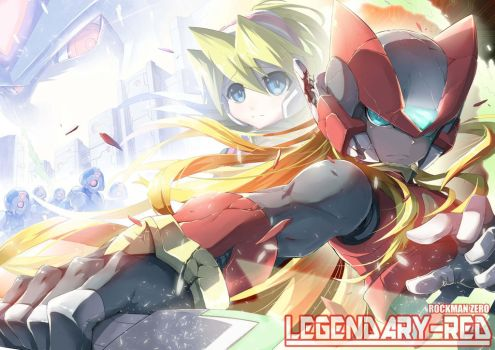 ROCKMAN Z LEGENDARY RED by ZELITTO
