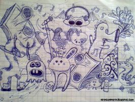 Monstruitos musicales by iRle