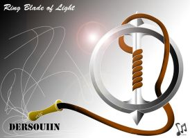 Ring Blade Of Light by artrias
