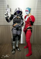 Tali and Samara at NYCC 2012 by BrassIvyDesign