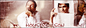 House and Wilson by LilSaintJA