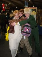 2012 MCM Telford Expo Pic America X2 and England by RoxasTsuna