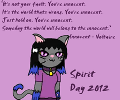 Spirit Day 2012 by LaLaLaNiceLady