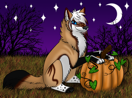 Thea's Halloween! by HiroGoldstone