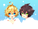 ONS: Mikayuu Babies by evenica