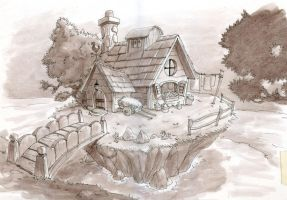Little house by KarlaDiazC