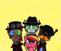 What We All Need is a Steam Powered Giraffe by Silver-Charge